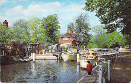 UNITED KINGDOM ( Berkshire ) READING : Sonning Lock - CPSM Photo Noir Et Blanc Format CPA - - Reading