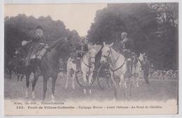 Forêt De Villers-Cotterêts (Aisne) - Equipage Menier Avant L'Attaque Au Rond Châtillon Retz - Chasse à Courre - Vénerie - Villers Cotterets