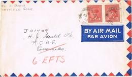 24303. Carta Aerea MARYFIELD (Saskatchewan) Canada 1943. Fechador BRANDON & RO.