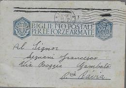 WWII Franchigia 1943 Posta Militare 3600 - Italia - Venafiorita - Aeroporto 613 - Aeronautica  Militare - Guerre 1939-45