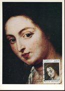 21738 Belgium, Maximum 1976 Painting Of    P.p. Rubens,  La Femme The Woman