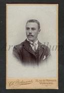 Photo-carte De Visite / CDV / Jeune Homme / Young Man / W / Photo Clément Ortmans / Verviers - Ancianas (antes De 1900)