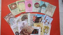 Lot De 19 Carnets Croix Rouge De 1969  Jusqu'en  1983  Avec Manquants Neuf ** - Booklets