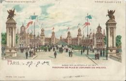 Parijs Paris Meteor Exposition Universelle De 1900 - Andere