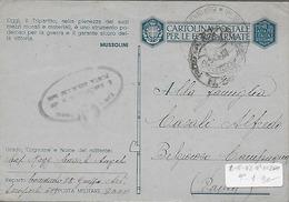 WWII Franchigia 1943 Posta Militare 3600 - Italia - Alghero - Aeroporto 609 - Aeronautica  Militare - Guerre 1939-45