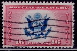 Unites States, USA, 1936, Special Delivery, 16c, Scott# CE2, Used - Oblitérés