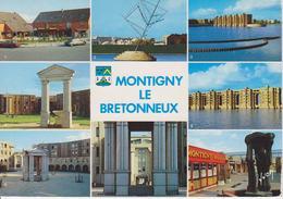 78 MONTIGNY LE BRETONNEUX / MULTIVUES AVEC CENTRES COMMERCIAUX / BLASON - Montigny Le Bretonneux