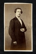 Photo-carte De Visite / CDV / Homme / Man / W / Photo V. Sallas / Charleroi - Photographs
