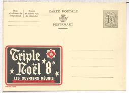 BELGICA PUBLIBEL CERVEZA BEER TRIPLE NOEL