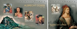 Centrafrica 2014, Art, A. Durer, 4val In BF+BF - Arts