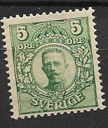 1910 MH Sweden, Wmk Crown