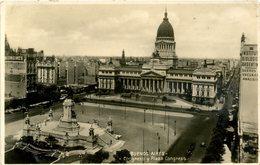ARGENTINA - BUENOS AIRES - CONGRESO Y PLAZA CONGRESO RP Arg98 - Argentina