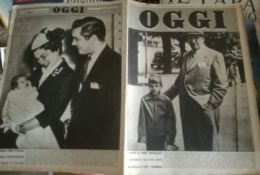 OGGI=1953/42=LOUISE LEVEQUE DE VILMORIN=GIOCONDA DE VITO=LILLA BRIGNONE=KUWAIT - Vieux Papiers