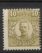 1910 MH Sweden, No Wmk