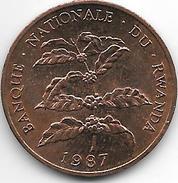 *rwanda 5 Francs 1987 Km 13  Unc - Rwanda