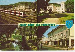 78 SAINT REMY LES CHEVREUSE / MULTIVUES AVEC GARE RER / HOTEL DE VILLE / BLASON - St.-Rémy-lès-Chevreuse