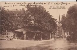 AIX LES BAINS  - LE  MARCHE AUX FLEURS - Aix Les Bains