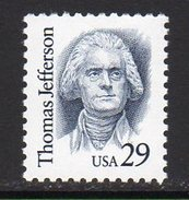 USA 1990-9 Great Americans Definitives, 29c Thomas Jefferson, MNH (SG 2440) - Vereinigte Staaten