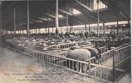 ¤¤  -  655  -  PARIS   -   Marché Aux Bestiaux De La Villette  -  Pavillon Aux Moutons   -  ¤¤ - Arrondissement: 19