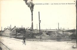 CPA Asnières-sur-Oise Les Ateliers De L'Usine De Caoutchouc - Asnières-sur-Oise