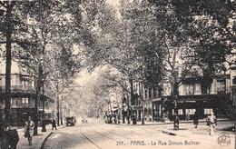 ¤¤  -  217  -  PARIS   -   La Rue Simon Bolivar   -  ¤¤ - Arrondissement: 19