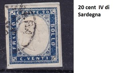 20 Cent IV Emissione Di Sardegna Usato - Sardegna