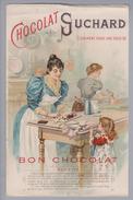 Motiv Schokolade Suchard Reklame Rechnung Kunz 1897-07-21 Litho - Alimentation