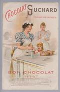 Motiv Schokolade Suchard Reklame Rechnung Kunz 1898-11-19 Litho - Alimentation