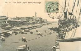 A-17.5537 :   PORT-SAÏD. QUAI FRANCOIS-JOSEPH - Port-Saïd