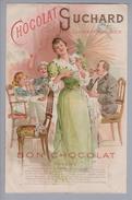 Motiv Schokolade Suchard Reklame Rechnung M. Kunz 1898-11-23 Litho - Alimentation