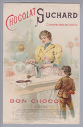 Motiv Schokolade Suchard Reklame Rechnung M. Kunz 1897-07-23 Litho - Alimentation