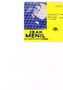 Carton Présentation Disque (Vitrine ?) Jean Menil Avec L'ensemble Jonato Une Aventure De Plus Amour De Ma Vie Porque Te - Accessories & Sleeves