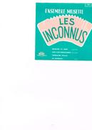 Carton Présentation Disque (Vitrine ?) Ensemble Musette Les Inconnus Manana Te Vere Aux Iles Grenadines Crinoline Polka - Accessories & Sleeves