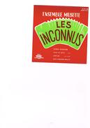Carton Présentation Disque(Vitrine ?) Ensemble Musette Les Inconnus Samba Roumaine Viva La Jota Coplas Old Fashion Waltz - Accessories & Sleeves