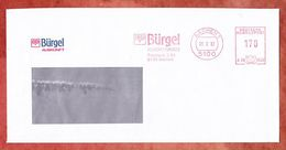 Brief, Frama A06-5536, Stilisierte Eule, Buergel Auskunft, 170 Pfg, Aachen 1992 (38016) - Machine Stamps (ATM)