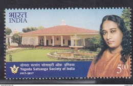INDIA, 2017, Yogoda Satsanga Society Of India, MNH, (**)