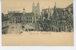 ALLEMAGNE -  Gruss Aus MAGDEBURG - Rathhaus Und Johanniskirche - Magdeburg