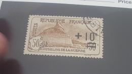 LOT 353760 TIMBRE DE FRANCE OBLITERE N°167 VALEUR 27 EUROS