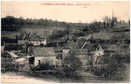 27 SAINT-PIERRE-de-BAILLEUL - Moulin De Bas   (Recto/Verso) - France