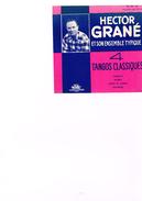Carton Présentation Disque(Vitrine ?) Hector Grané Et Son Ensemble Typique 4 Tango Classiques Caminito Negro Como Te Qui - Accessories & Sleeves