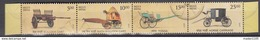 INDIA, 2017,Means Of TRANSPORT, BULLOCK CART & HORSE CARRIAGE Set Of 4 Stamps Setenant,  MNH (**)