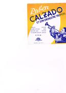 Carton Présentation Disque(Vitrine ?) Ruben Cazaldo Et Son Orcheztre Tropical Pasillo Manbo Gitano Besame Aqui Yo Quiero - Accessories & Sleeves