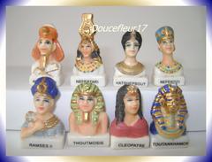 Egypte, Mystère De La Galette Des Pharaons ...Série Complète...Ref AFF : 131-2005.. (pan 0032) - Countries