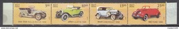 INDIA, 2017,Means Of TRANSPORT, VINTAGE CARS, Set Of 4  Stamps Setenant, Rolls Royce, Austin, Ford, Chevrolet,, MNH (**)