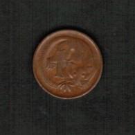 AUSTRALIA   1 CENT 1971 (KM #62) - Decimal Coinage (1966-...)