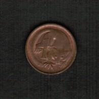 AUSTRALIA   1 CENT 1975 (KM #62) - Decimal Coinage (1966-...)
