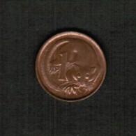 AUSTRALIA   1 CENT 1976 (KM #62) - Decimal Coinage (1966-...)