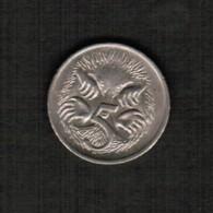 AUSTRALIA   5 CENTS 1977 (KM #64) - Decimal Coinage (1966-...)