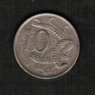 AUSTRALIA   10 CENTS 1975 (KM #65) - Decimal Coinage (1966-...)
