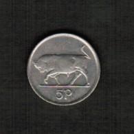 IRELAND   5 PENCE 1992 (KM #28) - Ireland